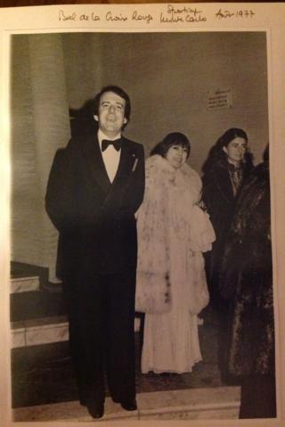 Jean-Paul Carteron, Princesse Soraya, Shah of Iran, Crans Montana Forum