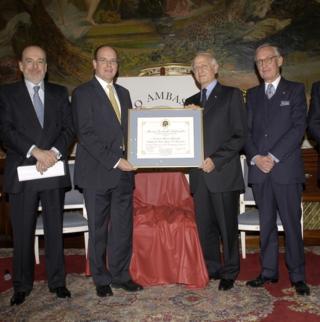 Jean-Paul Carteron, Audrey Azoulay, Monaco Ambassadors Club, Cercle des Ambassadeurs