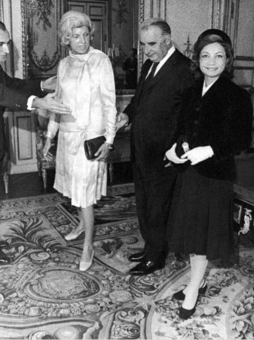 Jean-Paul Carteron, Ashraf Pahlavi, Daewi Soekarno, Princesse Soraya, Shah of Iran, Crans Montana Forum, Mehdi Bousheri