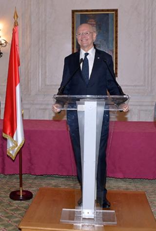 Serge Telle, Jean-Paul Carteron, Forum de Crans Montana, Monaco Ambassadors Club
