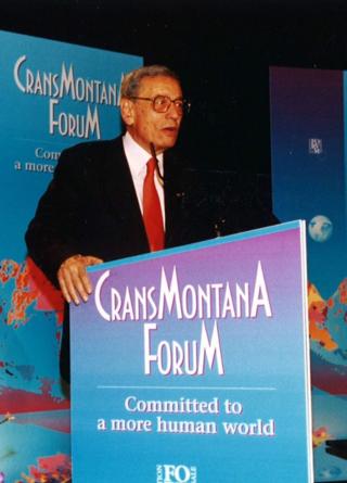 Jean-Paul Carteron, Crans Montana Forum, Monaco Ambassadors Club