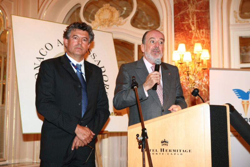 Monaco Ambassadors Club, Joel Bouzou, Peace and Sport