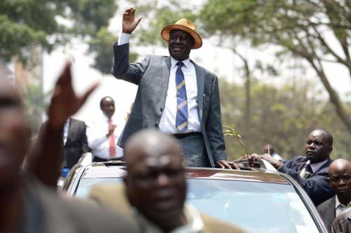 Jean-Paul Carteron, Raila Odinga