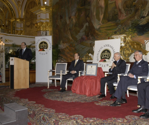 Jean-Paul Carteron, André Azoulay, Monaco Ambassadors Club, Cercle des Ambassadeurs, Paris