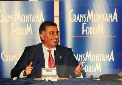 Jean-Paul Carteron, Reza Pahlavi, Monaco Ambassadors Club