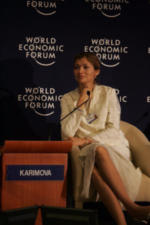 World Economic Forum, Karimova, Jean-Paul Carteron