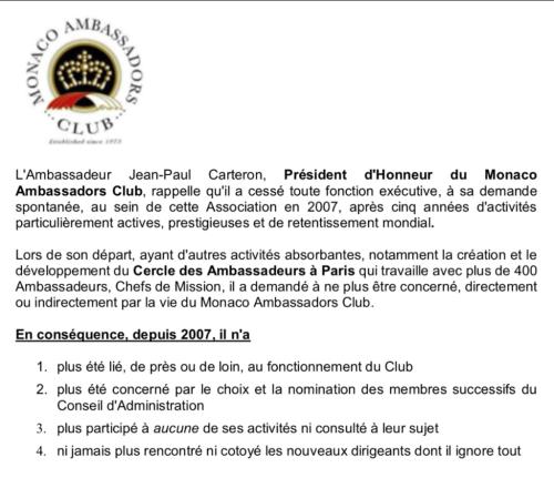 Monaco Ambassadors Club, Alexander Moghadam,
