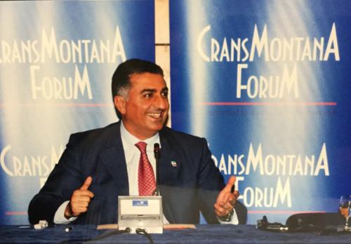 Monaco Ambassadors Club, Pahlavi, Iran, Jean-Paul Carteron