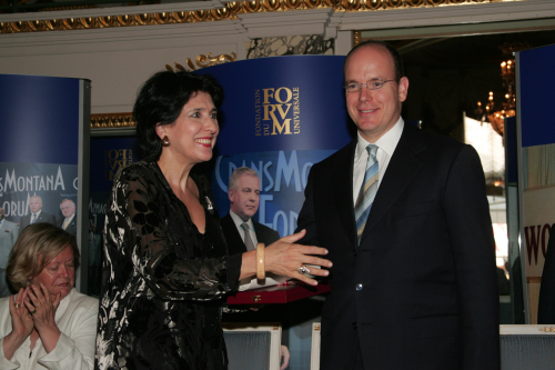 Jean-Paul Carteron, Salomé Zourabishvili